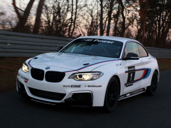 2014 BMW M235i Racing (F22) race d wallpaper