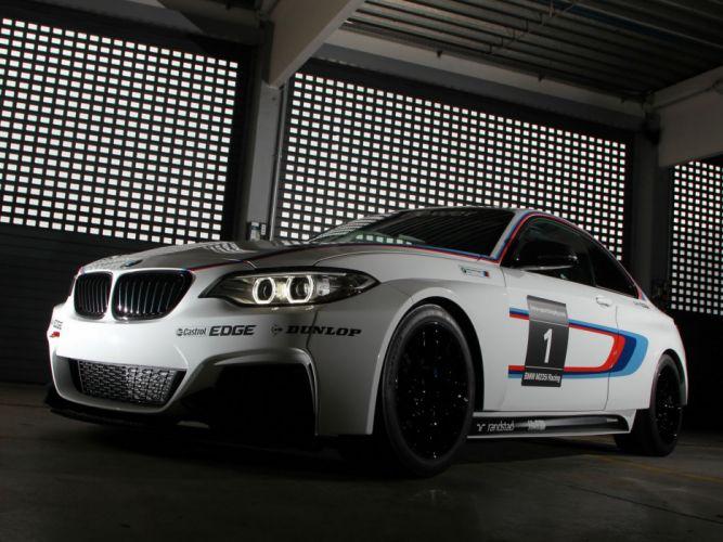 2014 BMW M235i Racing (F22) race e wallpaper