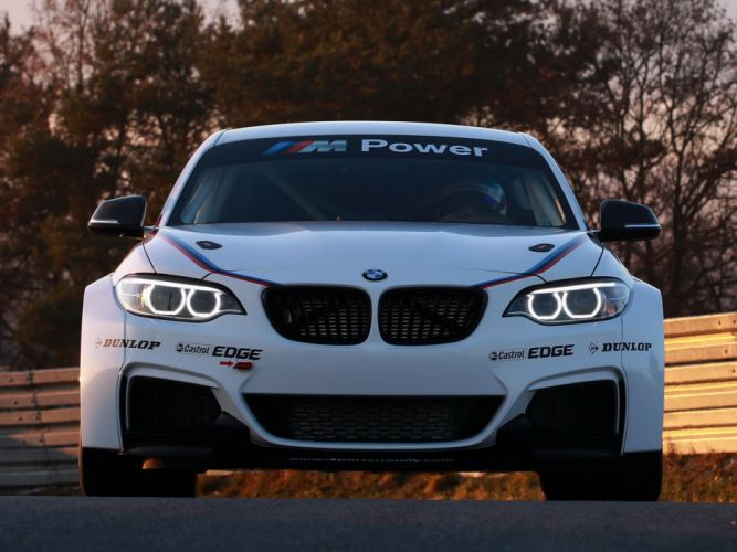 2014 BMW M235i Racing (F22) race f wallpaper