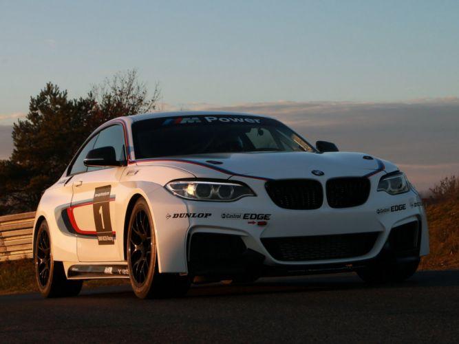 2014 BMW M235i Racing (F22) race g wallpaper