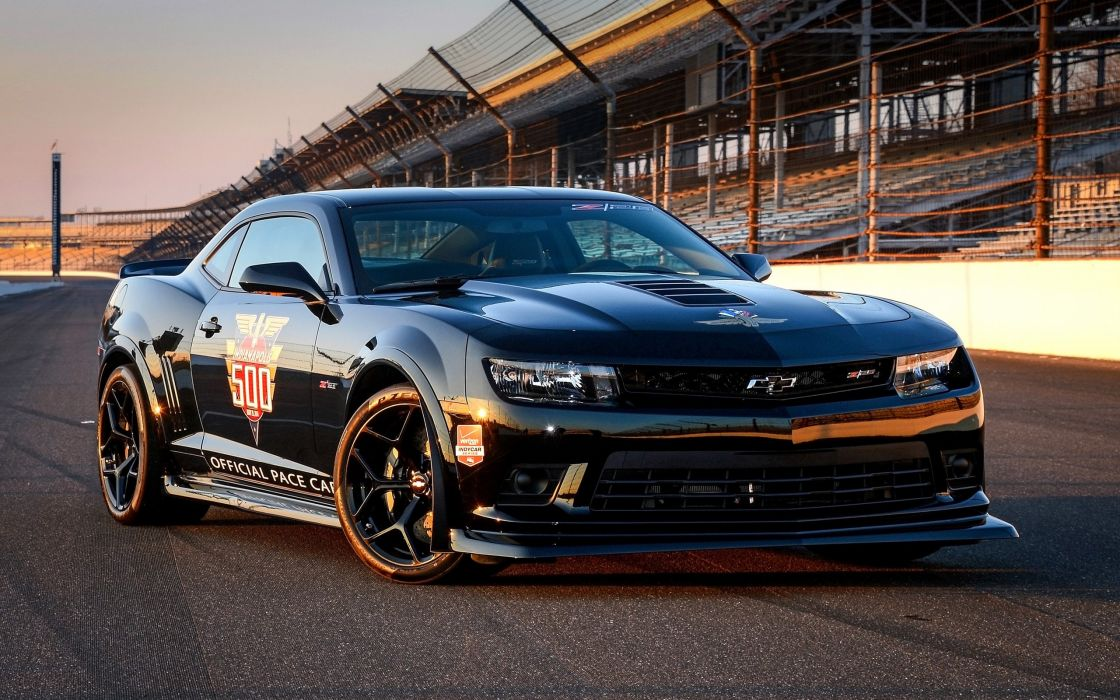 2014 Chevrolet Camaro Z28 Indy 500 Pace race racing muscle g wallpaper