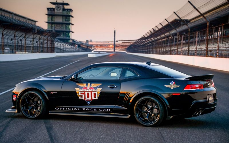 2014 Chevrolet Camaro Z28 Indy 500 Pace race racing muscle r wallpaper