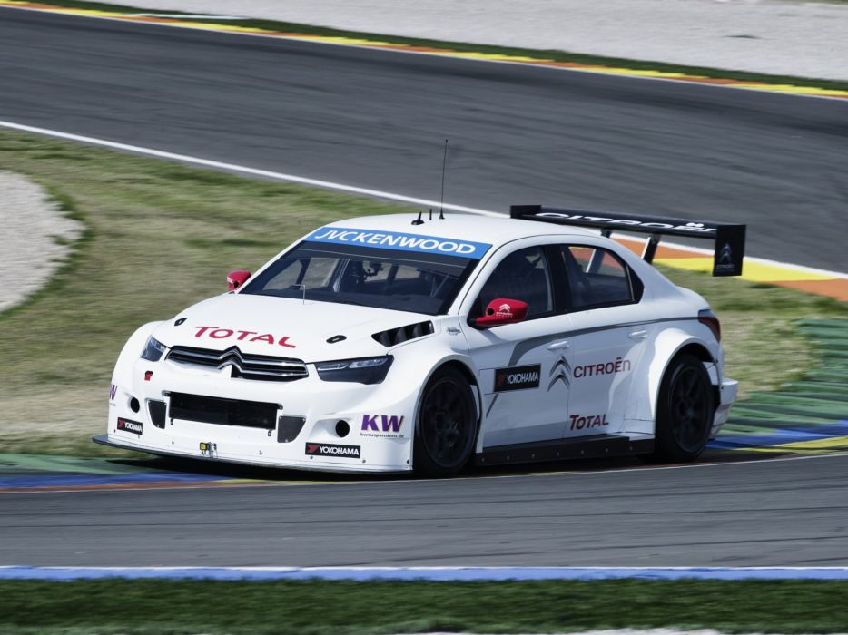 2014 Citroen C-Elysee WTCC race racing  r wallpaper