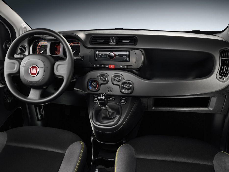 2014 Fiat Panda Young (319) interior f wallpaper | 2048x1536 ...