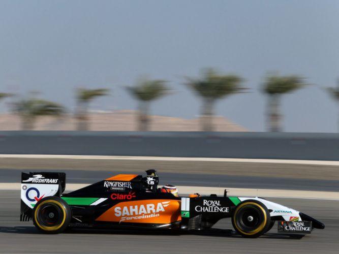 2014 Force India VJM07 F=1 formula race racing f wallpaper
