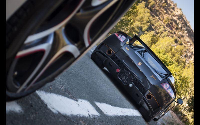 2014 GTA Spano Carbon supercar wheel fg wallpaper