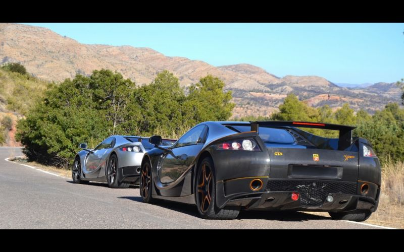 2014 GTA Spano Carbon supercar nc wallpaper