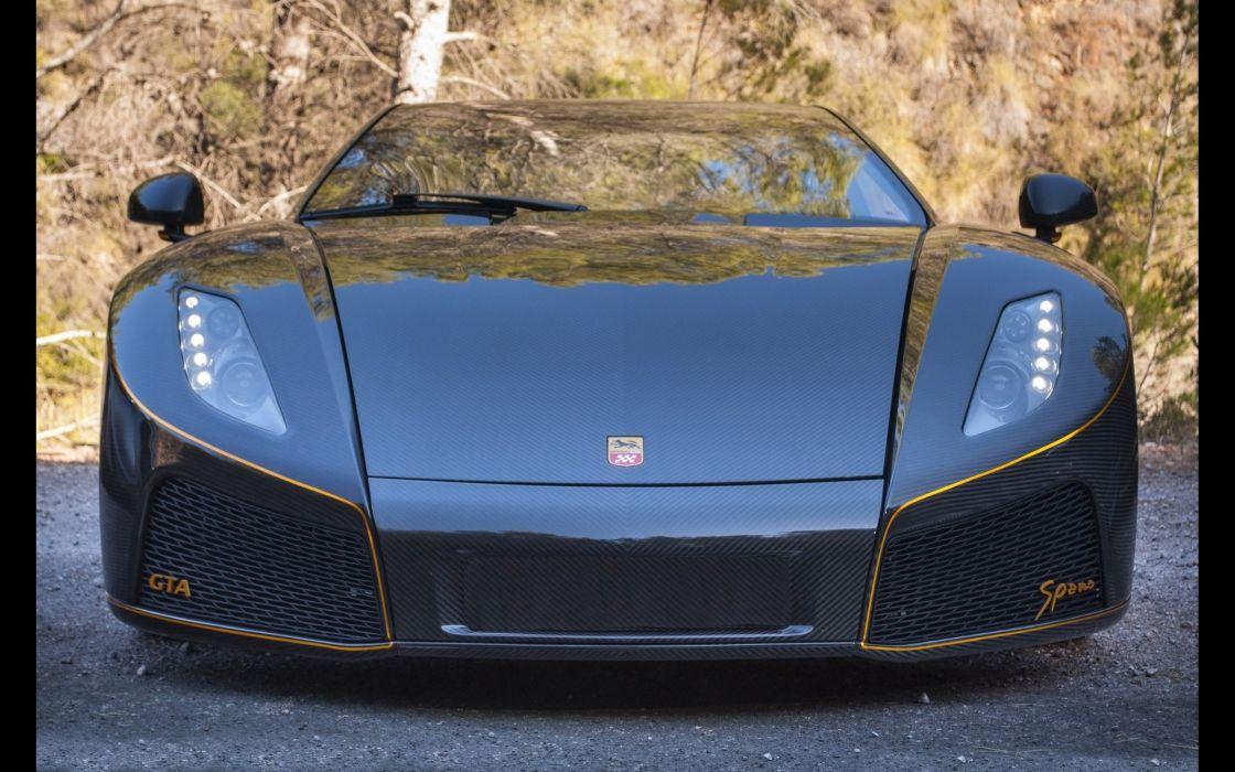 2014 GTA Spano Carbon supercar  e wallpaper