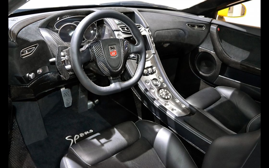 2014 GTA Spano supercar interior      g wallpaper