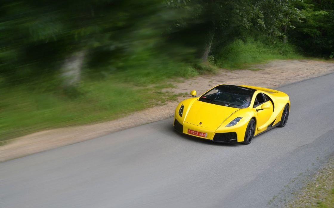 2014 GTA Spano supercar  hd wallpaper