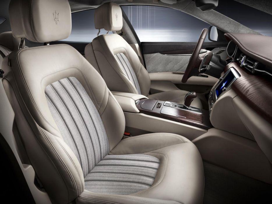 2014 Maserati Quattroporte Ermenegildo Zegna luxury interior   f wallpaper