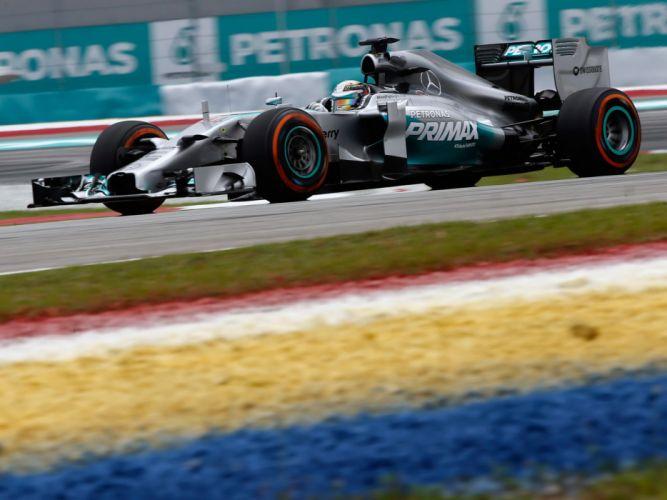 2014 Mercedes Benz AMG F-1 W05 formula race racing h wallpaper