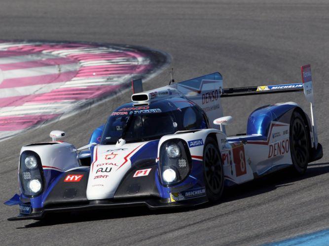 2014 Toyota TS040 Hybrid Le-Mans race racing prototype t wallpaper