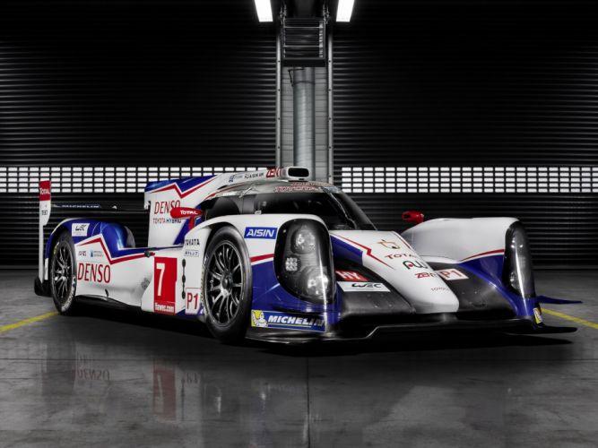 2014 Toyota TS040 Hybrid Le-Mans race racing prototype r wallpaper