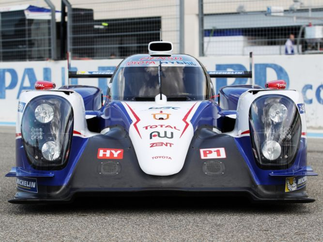 2014 Toyota TS040 Hybrid Le-Mans race racing prototype tw wallpaper