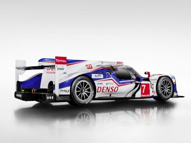2014 Toyota TS040 Hybrid Le-Mans race racing prototype e wallpaper