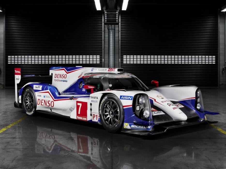 2014 Toyota TS040 Hybrid Le-Mans race racing prototype     g wallpaper