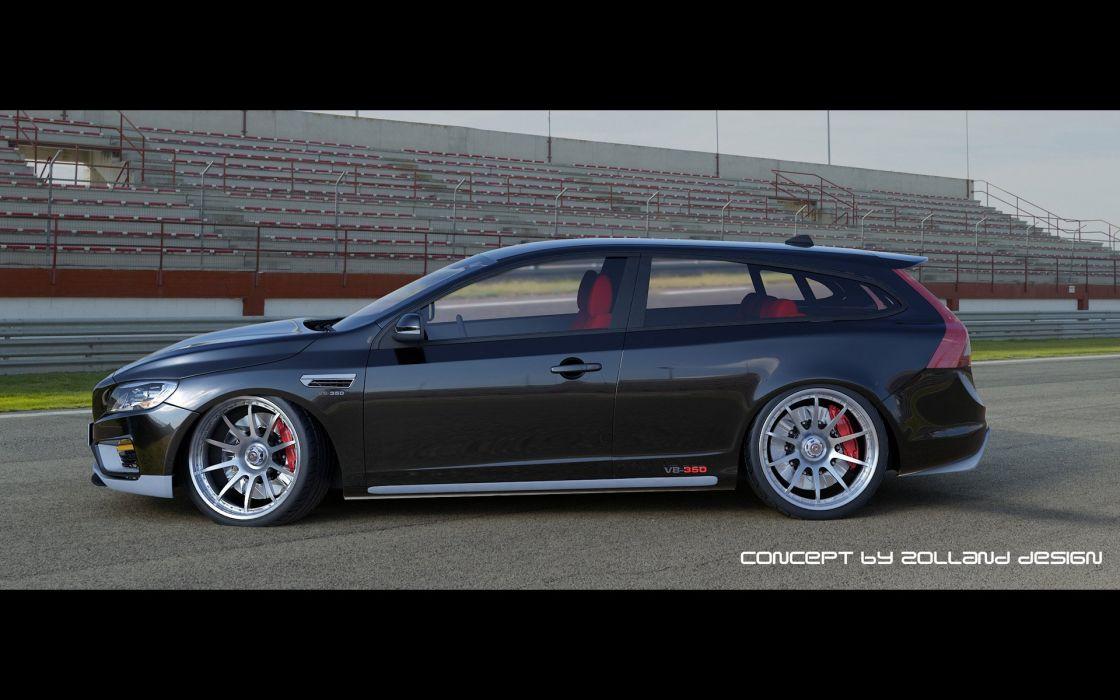 2014 Zolland Design Volvo V60 V-8 2-Door Estate Concept stationwagon tuning  d wallpaper
