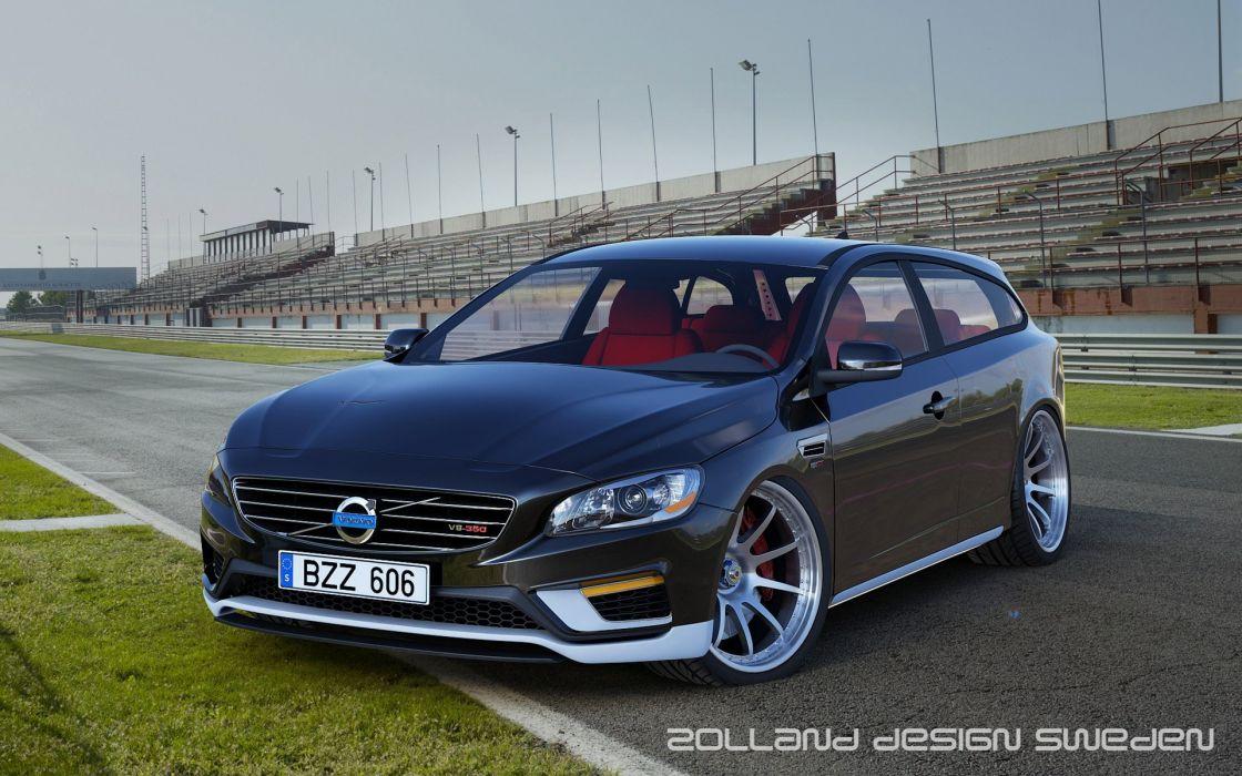 2014 Zolland Design Volvo V60 V-8 2-Door Estate Concept stationwagon tuning    g wallpaper