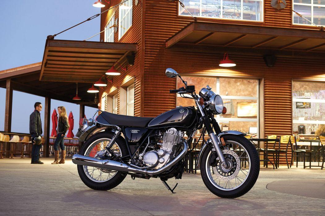 2015 Yamaha SR400 motorbike bike motorcycle  h wallpaper