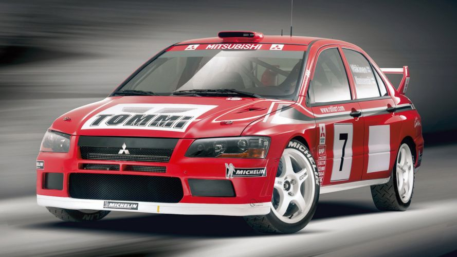 Mitsubishi Lancer Evo WRC 3D wallpaper