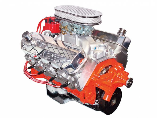 Big-Block Crate Engine 454 chevrolet hot rod rods muscle f wallpaper