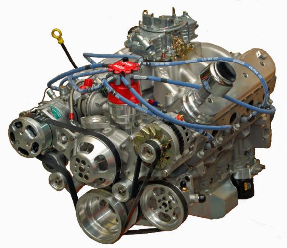 415 L-S Small Block Chevrolet Crate Engine hot rod rods muscle wallpaper