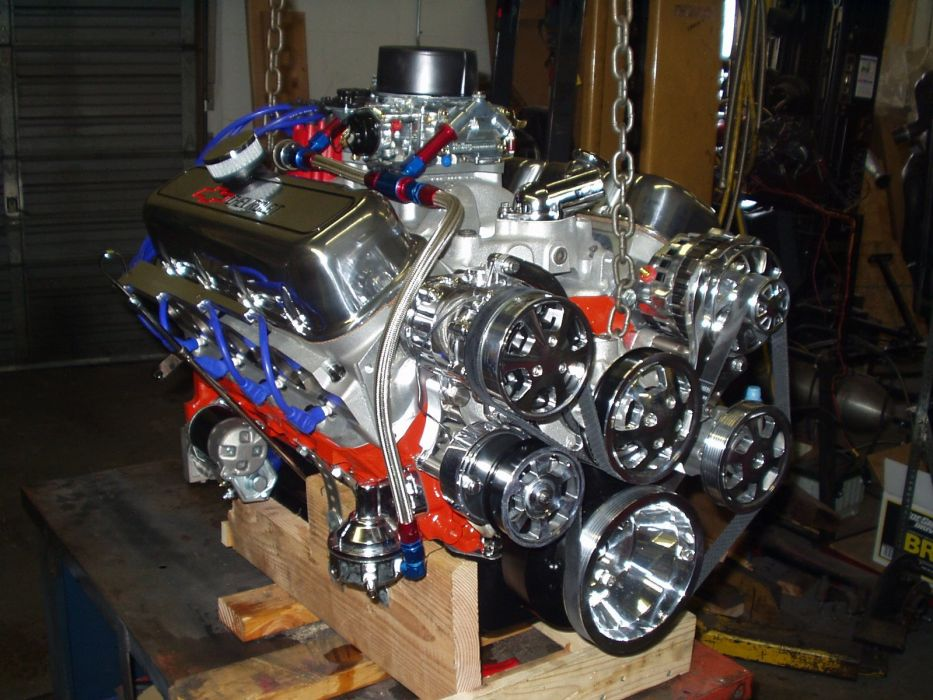 540 640Hp Stage Five Monster chevrolet Big Block Crate Engine hot rod rods muscle race racing    f wallpaper