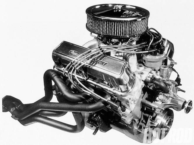 Ford Motorsport 351 H-O SVO crate engine hot rod rods muscle race racing wallpaper