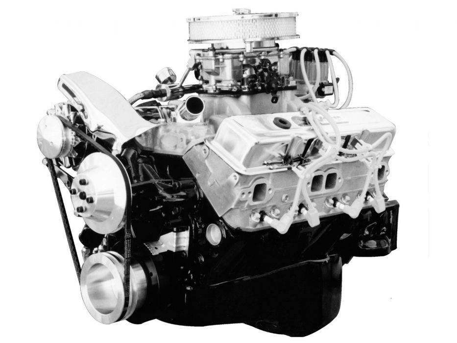 Chevrolet small block crate engine hot rod rods tuning muscle 400 350hp wallpaper