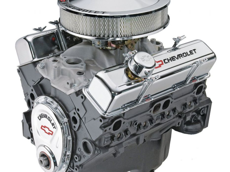 G-M 350 290hp engine crate hot rod rods muscle wallpaper
