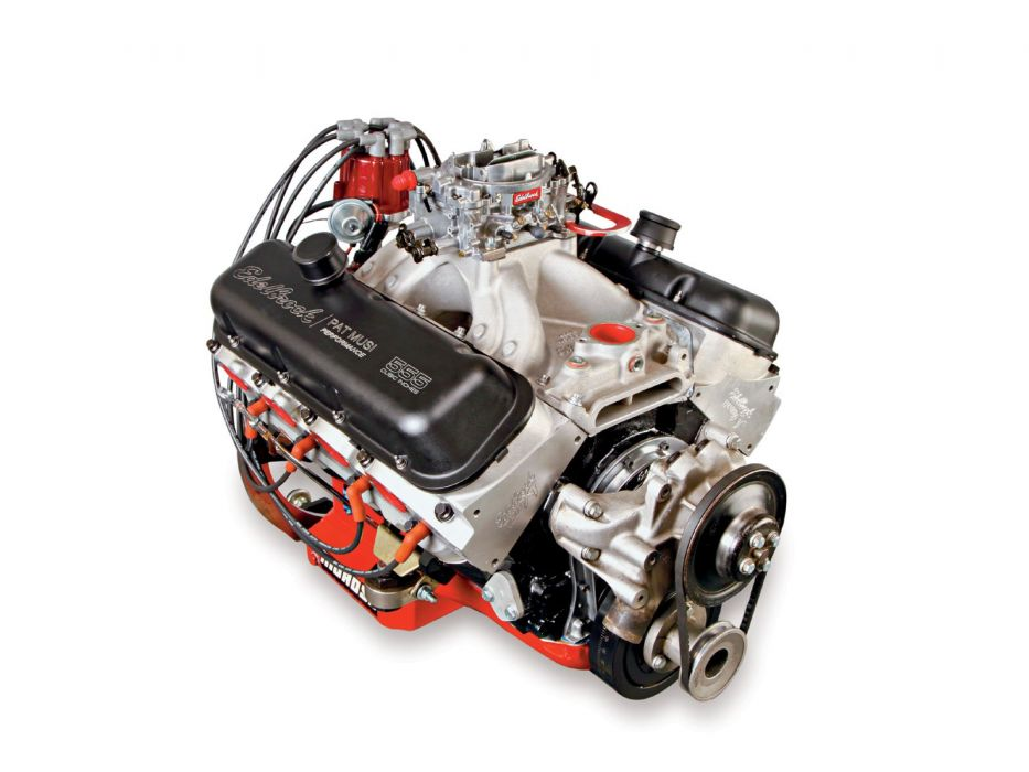 Edelbrock Pat-Musi 555 Crate Engine hot rod rods muscle    f wallpaper