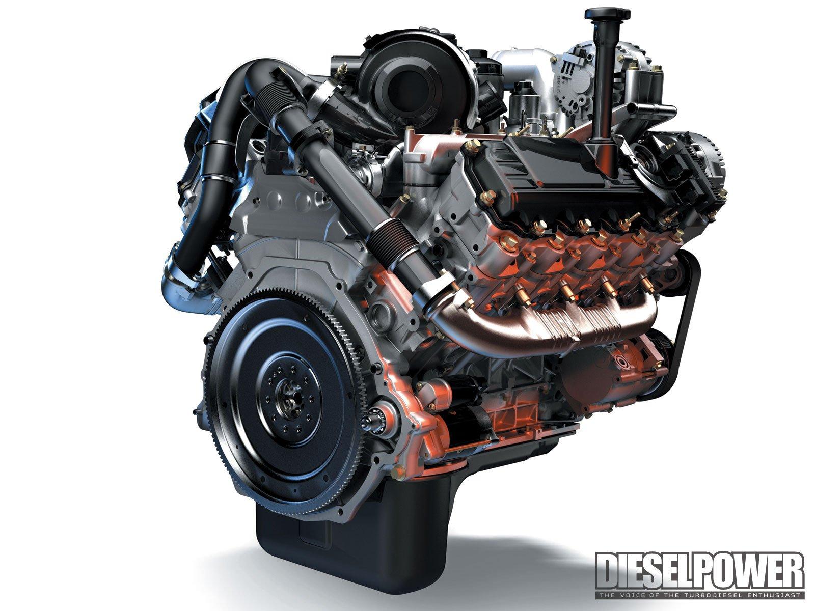 diesel crate engine pickup truck hot rod rods wallpaper