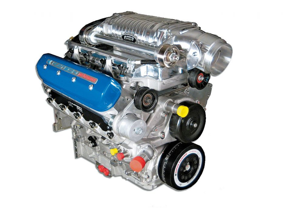 427 Air Attack Ls7 Supercharged Crate Engine Muscle Supercar