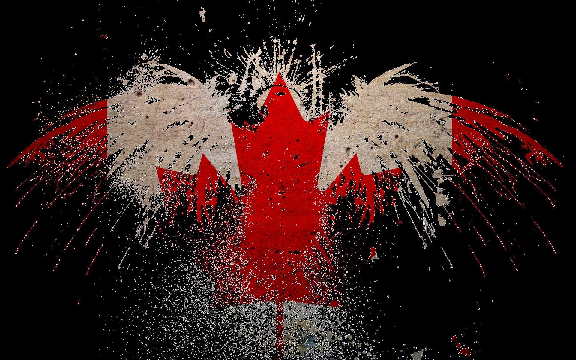 canada canadian flag canada flag wallpaper 1920x1200