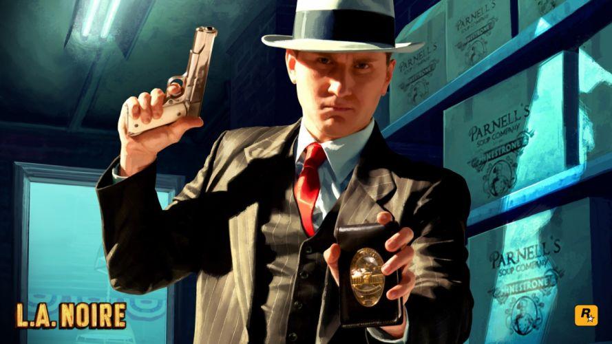 video games Rockstar Games L_A Noire wallpaper