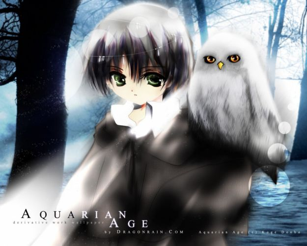 owls Aquarian Age wallpaper