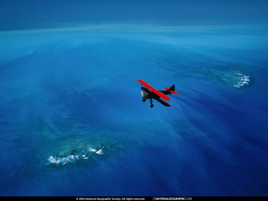 National Geographic biplane aerial photography aerial view wallpaper
