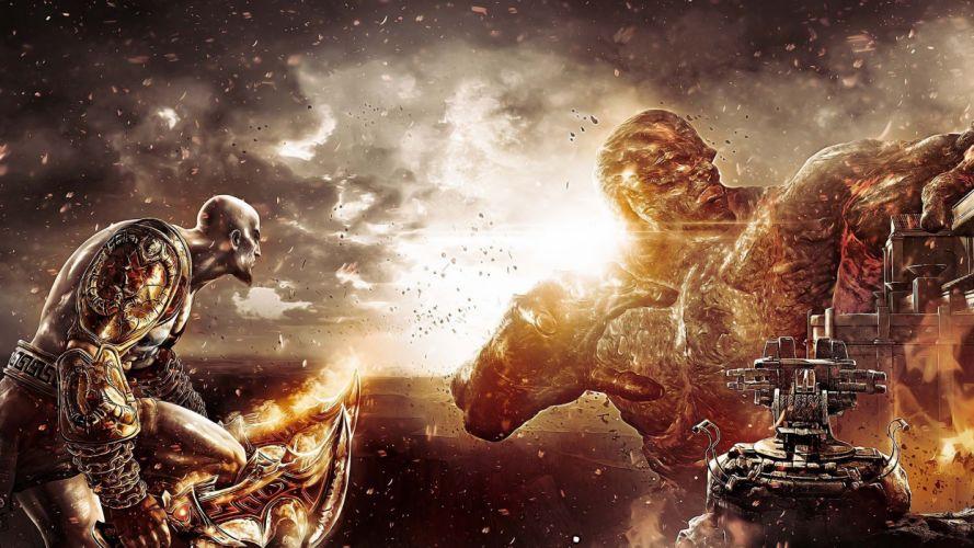 God of War Hermes God Of War 3 Kratos wallpaper