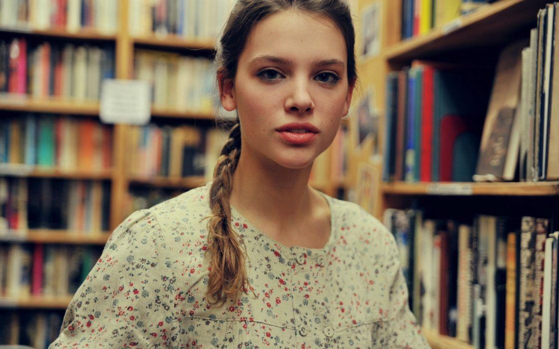 brunettes women models Emily Tebbetts Tessa Schaaf wallpaper