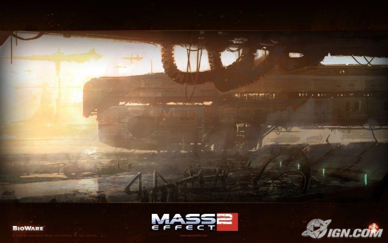 video games BioWare Mass Effect 2 wallpaper