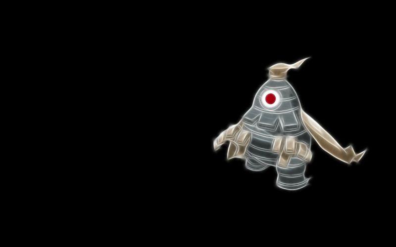 Pokemon black background Dusclops wallpaper