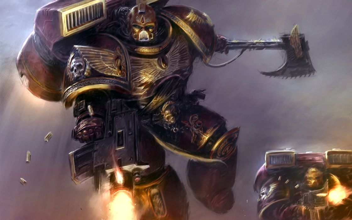 video games space marines bolter science fiction Blood Angels Warhammer 40 000 Warhammer 40k wallpaper