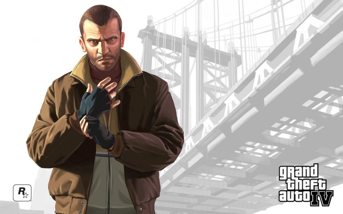video games Grand Theft Auto grand Rockstar Games Grand Theft Auto IV wallpaper