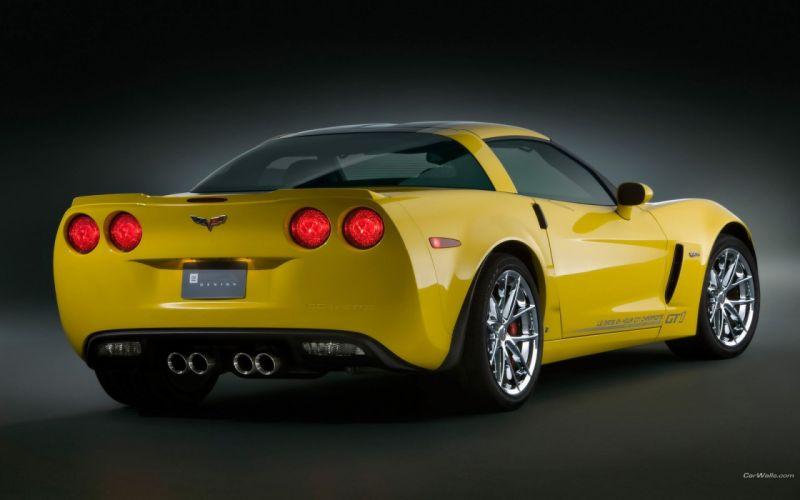 cars Chevrolet Corvette gt1 wallpaper