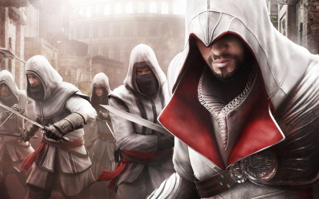 Ezio Assassins Creed Brotherhood Wallpaper 1920x1200 321094 Wallpaperup
