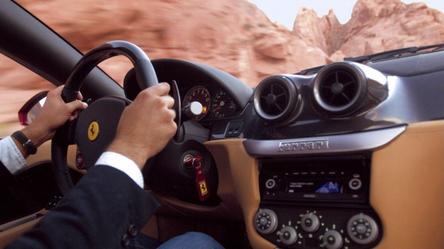 cars Ferrari dashboards wallpaper