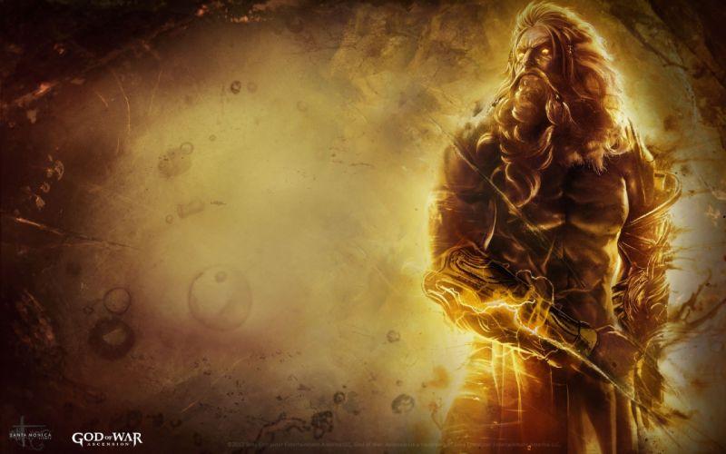 God of War Zeus ultimate god of war ascension wallpaper