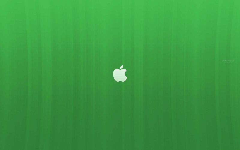 green Apple Inc_ Linux logos wallpaper