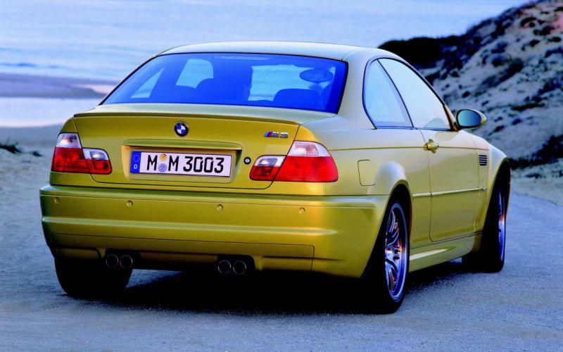 cars BMW E46 M3 wallpaper